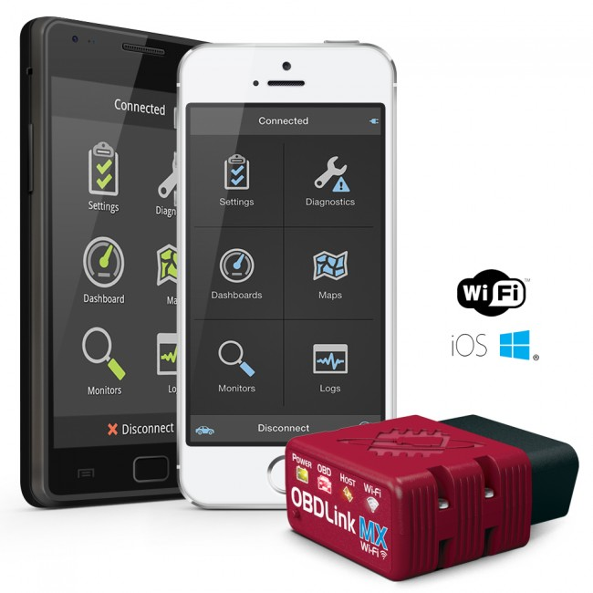 Obdlink Mx Wi Fi Obd Ii Scan Tool For Ios Android Amp Windows
