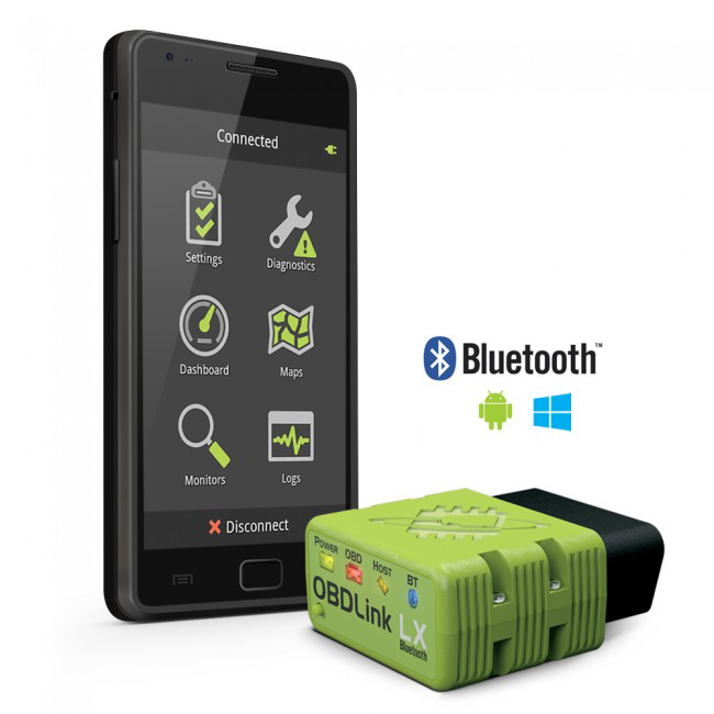 Obdlink Lx Bluetooth Obd Ii Scan Tool For Android Windows