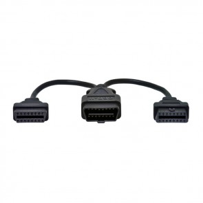 J1962M to 2-J1962F, Y-Cable