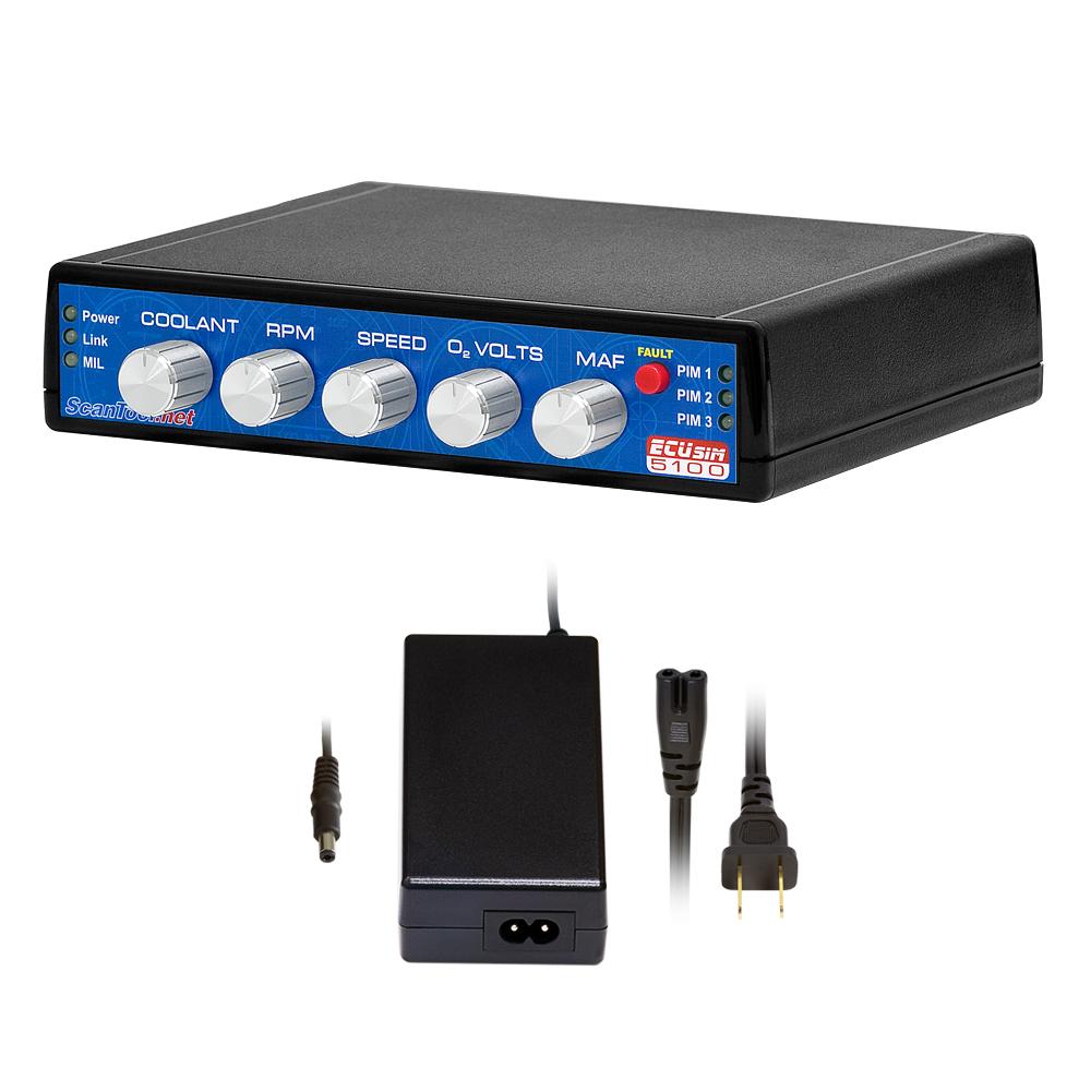 Ecusim 5100 Professional Multiprotocol 3 Pim Obd Simulator Oxygen Sensor This Is Built From A