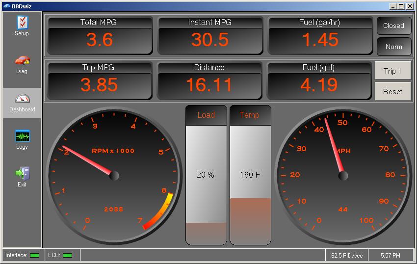 OBDwiz Automotive Diagnostic Software